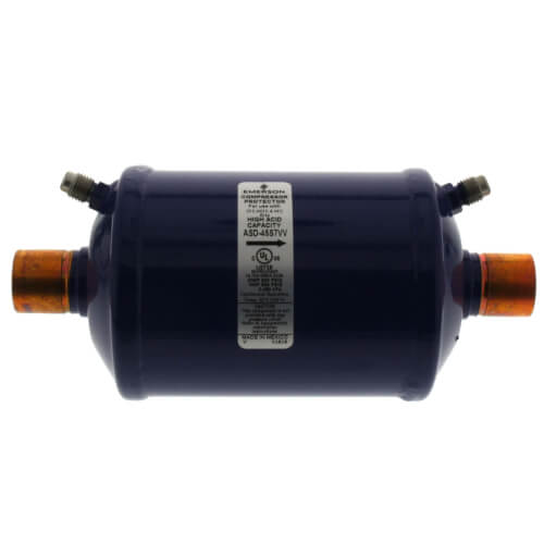 "7/8"" ODF ASD-Series Premium Suction Line Filter Drier (45 Cubic Inches) Product Image"