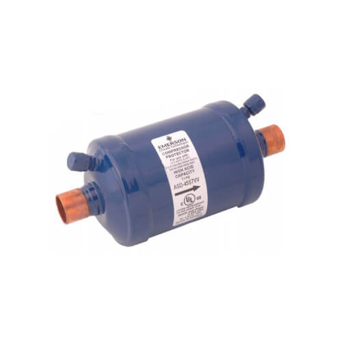 "1-1/8"" ODF ASD-50S9-W Premium Suction Line Filter Drier (50 Cubic Inches) Product Image"