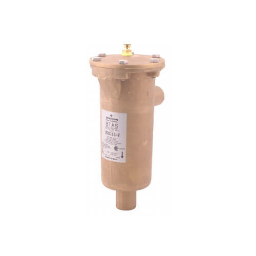"1-3/8"" ODF BTAS311-Series Brass Take-Apart Suction Line Filter Drier (3 Cubic Inches) Product Image"