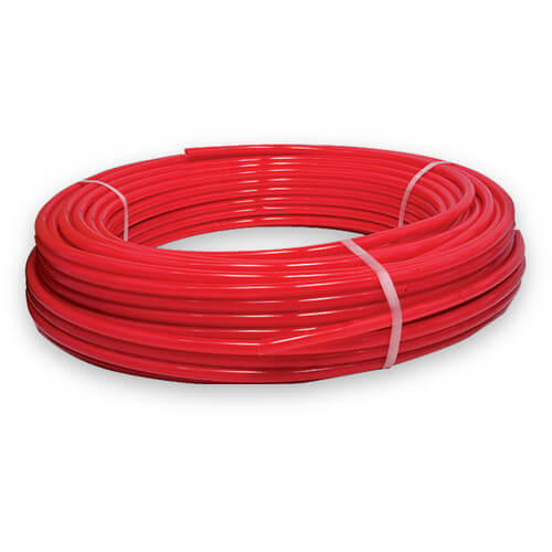 """1/2"""" Red PEX Tubing (100 ft Coil) Product Image"""