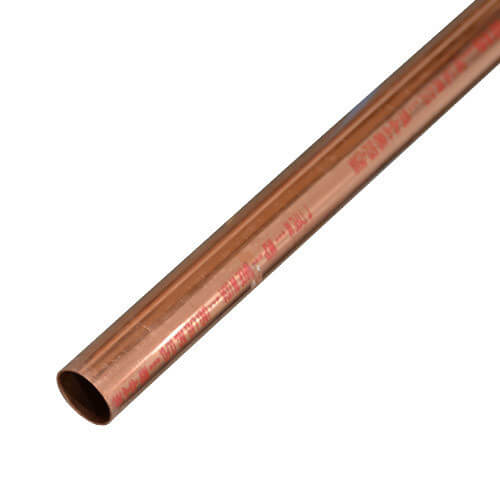 "1/2"" x 2' Type M Straight Copper Pipe Product Image"
