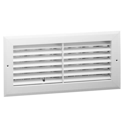 """10"""" x 6"""" (Wall Opening Size) Side Wall Aluminum Return Grille (RHD45 Series) Product Image"""