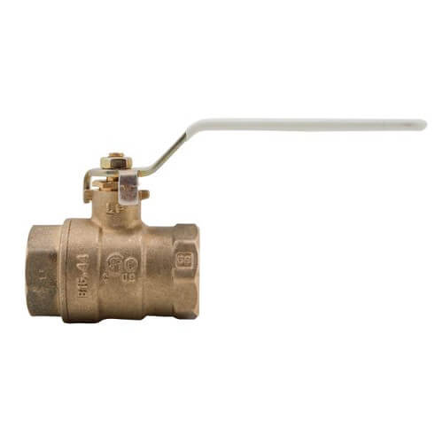 "LFFBV-4, 3/4"" Full Port Threaded Ball Valve, Lead Free Product Image"