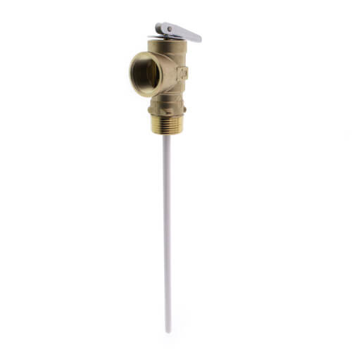 """LF100XL-8,  3/4"""" Lead Free T & P Relief Valve Product Image"""