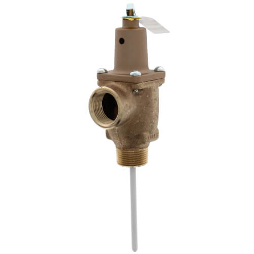 "1"" LF40XL-4 Lead Free T&P Relief Valve (150 psi) Product Image"