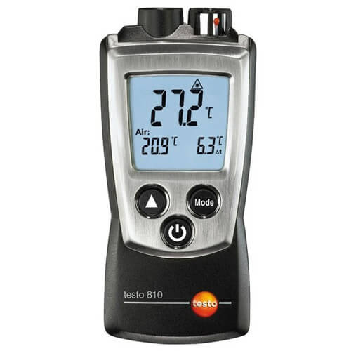 810, Pocket-Sized Infrared Temperature Meter (-22° to 572°F) Product Image