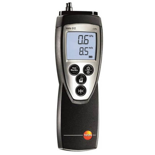 Differential Pressure Meter 0 to 2 hPa Product Image