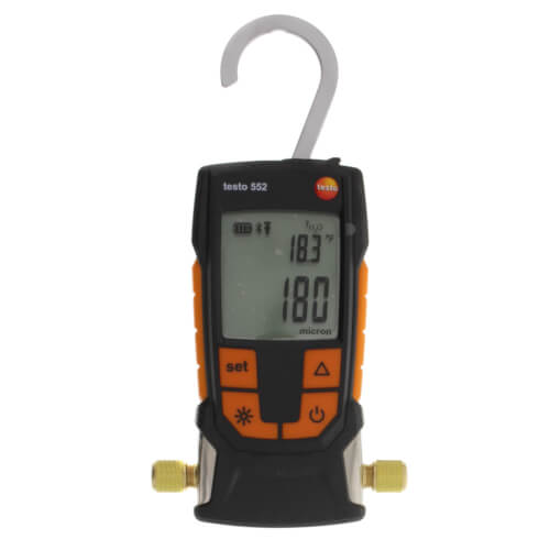 552, Digital Vacuum Gauge w/ Bluetooth (1100 to 0 mBar) Product Image