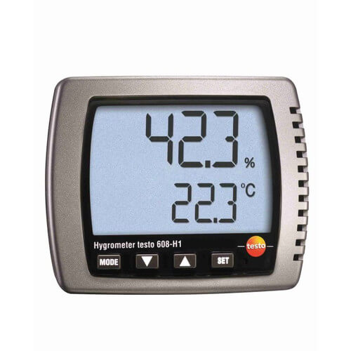 Thermo Hygrometer with Battery, LED Alarm and Calibration Protocol Product Image