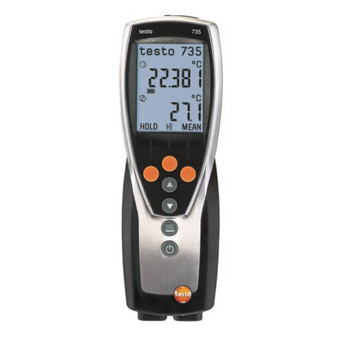 3-Channel RTD/Thermocouple Thermometer with Alarm and Calibration Protocol Product Image