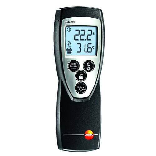 2-Channel Digital Thermometer with Type K Connections Product Image