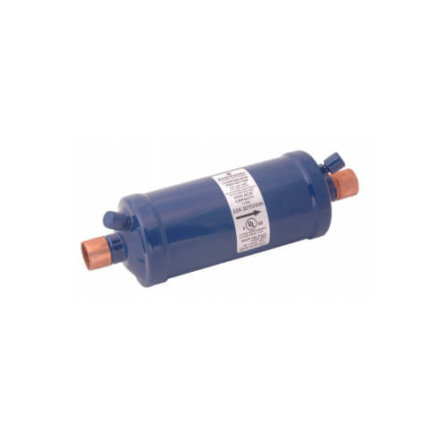 "3/4"" ODF ASK-166S-W-HH Charcoal Blend Suction Line Filter Drier (16 Cubic Inches) Product Image"