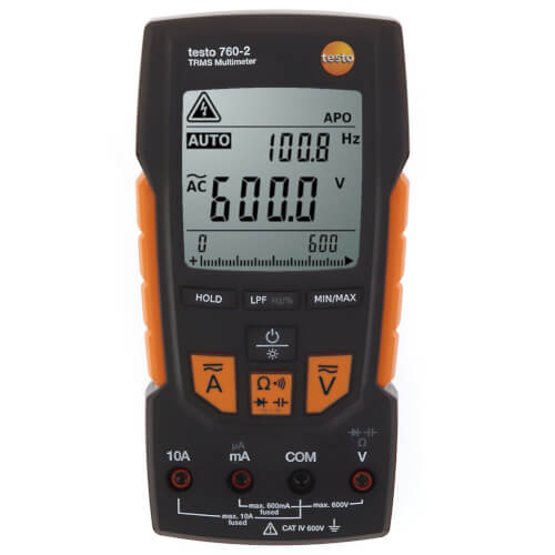Digital Multimeter with Auto-Test, Capacitance, TRMS & Low Pass Filter Product Image