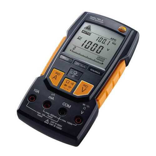 Digital Multimeter with Auto-Test, Capacitance, TRMS, Low Pass Filter & 1000V Product Image