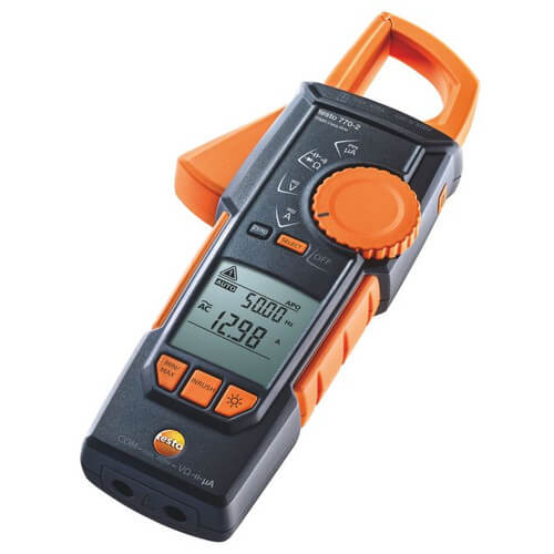 Hook-Clamp Digital Multimeter with TRMS, Inrush, Temperature Product Image