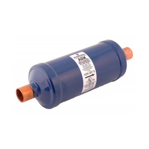 "1/4"" SAE ADK032-Series Core Style Liquid Line Filter Drier (3 Cubic Inches) Product Image"