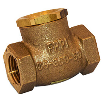 "1-1/4"" Swing Check Valve  Product Image"