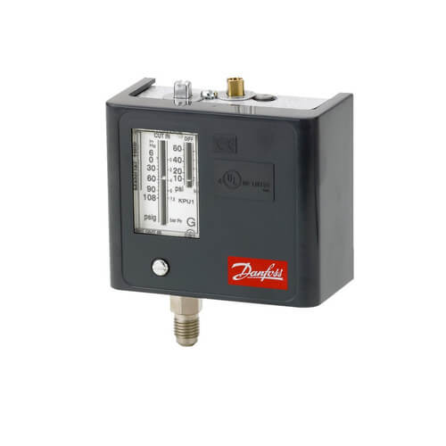 """KPU Low Pressure Control SPST Auto Reset w/ 1/4"""" Male Flare Product Image"""