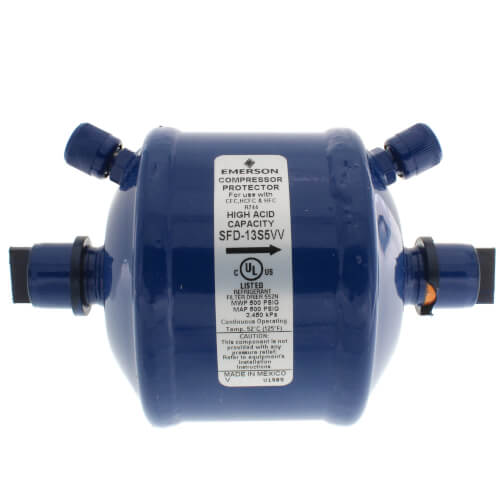 "5/8"" ODF SFD-13S5-W Suction Line Filter Drier (13 Cubic Inches) Product Image"