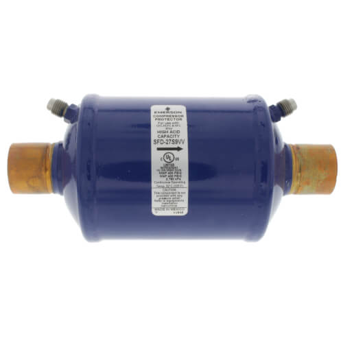 """1-1/8"""" ODF SFD27S9W-Series Suction Line Filter Drier (27 Cubic Inches) Product Image"""