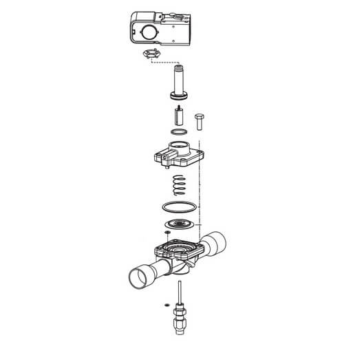 240RA8-Series Valve Kit Product Image