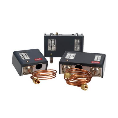 "KPU 71 Auto Reset Temperature Control, Vapor Charge, 80"" Capillary Tube Product Image"