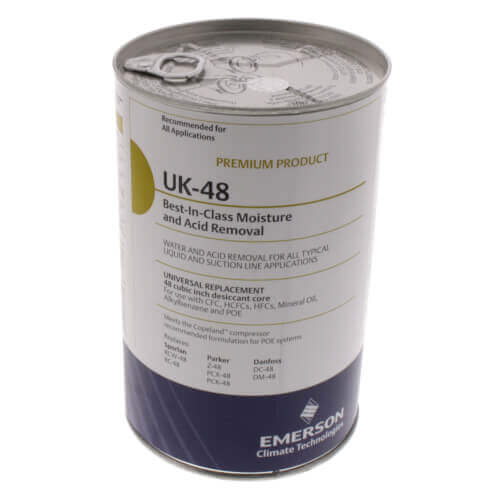 UK-Series Universal Replacement Filter Drier Core (48 Cubic Inches) Product Image