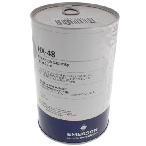 HX-Series Highest Water Removal Filter Drier Core (48 Cubic Inches) Product Image