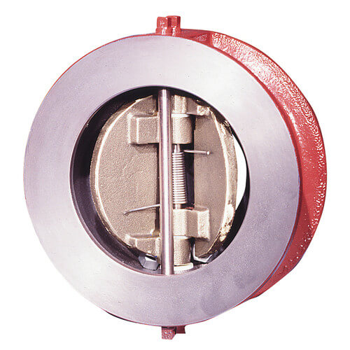 """4"""" ICV-125-2-2-T Cast Iron Wafer Check Valve (Lead Free) Product Image"""