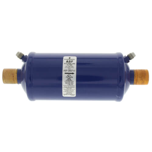 "7/8"" ODF ASF28S7-Series Suction Line Filter Drier (28 Cubic Inches) Product Image"