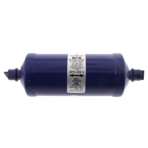 "5/8"" ODF BFK305S-Series Liquid Line Bi-Directional Filter Drier (30 Cubic Inches) Product Image"