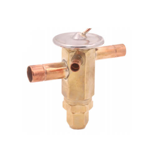 """1/4"""" x 1/2"""" ODF S/T Thermal Expansion Valve (1/4 Ton) Product Image"""