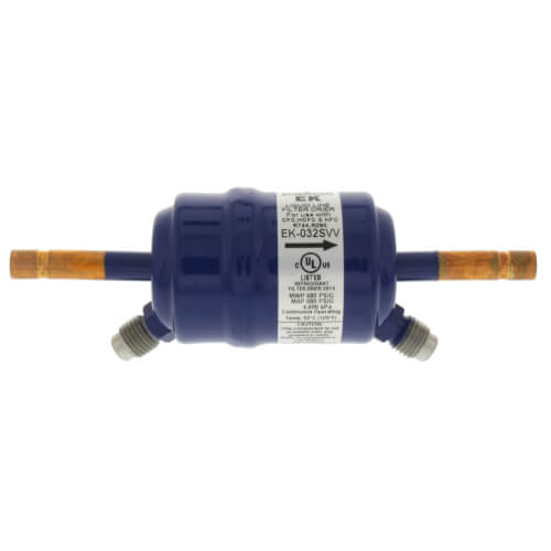 """1/4"""" ODF EK032VV-Series Contractor's Choice Filter Drier (3 Cubic Inches) Product Image"""