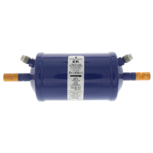 """3/8"""" ODF EK-163S-Series Liquid Line Filter Drier (16 Cubic Inches) Product Image"""