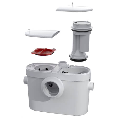 Saniaccess 2 Macerating Pump (White) Product Image