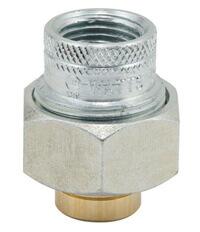 "1"" LF4001E CxF Dielectric Union, Lead Free Product Image"