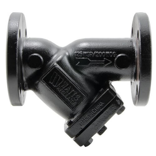 """2-1/2"""" 77F-DI-125 Cast Iron Wye Strainer Product Image"""