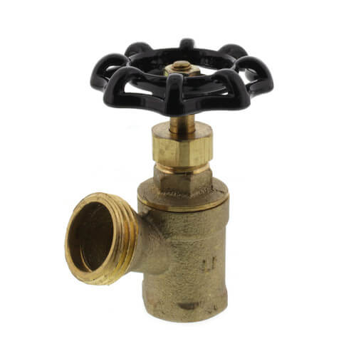 "1/2"" FPT Boiler Drain, Female Threaded (Lead Free) Product Image"