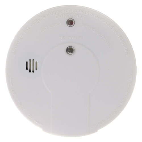i9060 Battery Operated Ionization Smoke Alarm w/ Hush Product Image