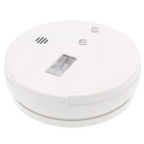 i9080 9v Battery Operated Hallway Ionization Smoke Alarm w/ Safety Light Product Image