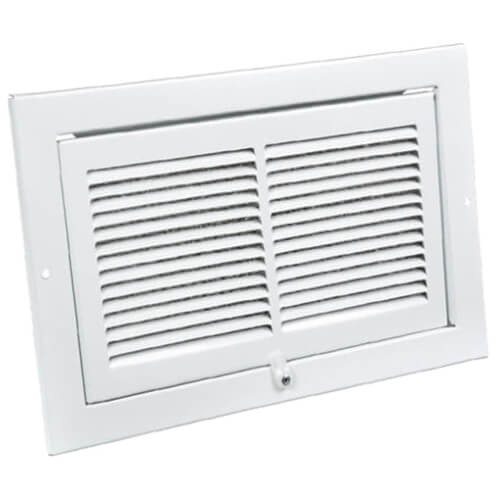 """6"""" x 10"""" EasyAir Kitchen Grille (White) Product Image"""