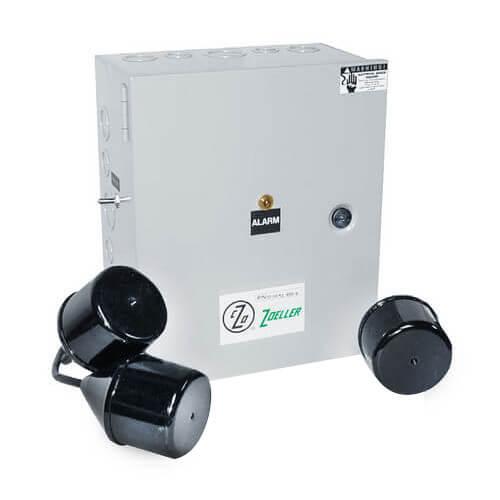 Single Phase Electrical Alternator Duplex Control Panel, 7-15A (NEMA 1 Enclosure) Product Image
