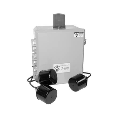 Three-Phase, Duplex Electrical Alternator Control Panel, 1.0-1.6A (NEMA 4X Enclosure) Product Image