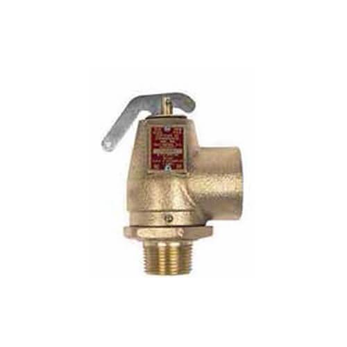 "3/4"" MNPT x 3/4"" FNPT RVW10 420,000 BTU Bronze Relief Valve (20 psi) Product Image"