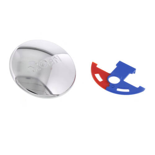 7400-Series Chateau Handle Cap with Temperature Indicator Kit (Chrome) Product Image