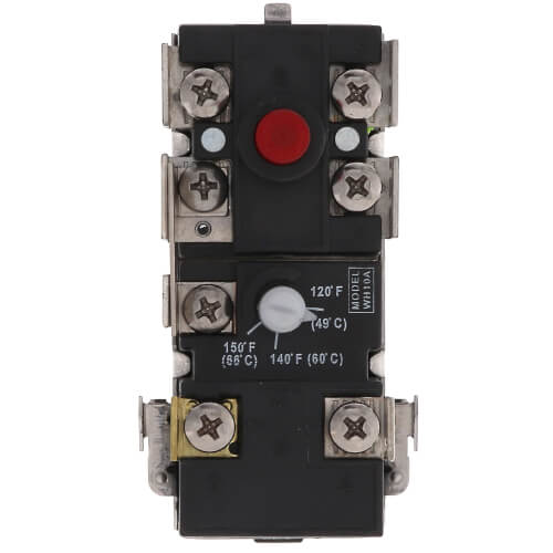 WH10-A, Upper Thermostat w/ E.C.O, Electric Product Image
