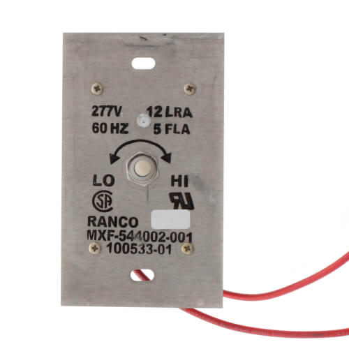 Ranco Variable Speed Switch (277V, 5 Amps) Product Image