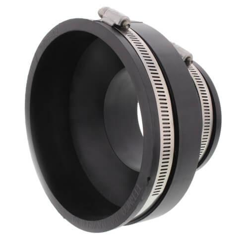 "4"" x 3"" Flexible Coupling (Concrete to Cast Iron, PVC, Copper, Steel, Lead) Product Image"