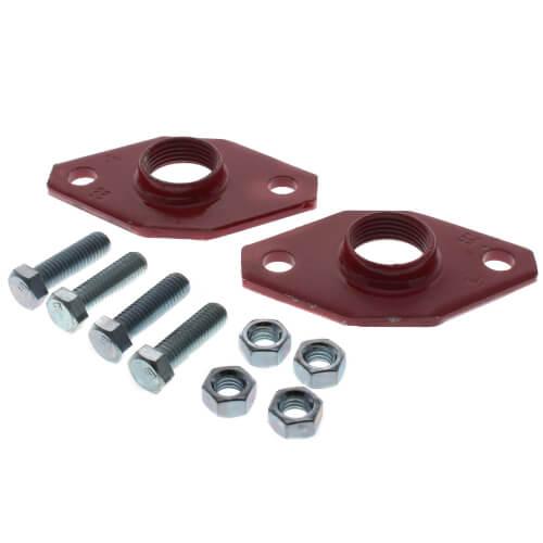 "1"" Bell & Gossett Iron Body Pump Flange for HV, PL, NRF Pumps - (Pair) Product Image"