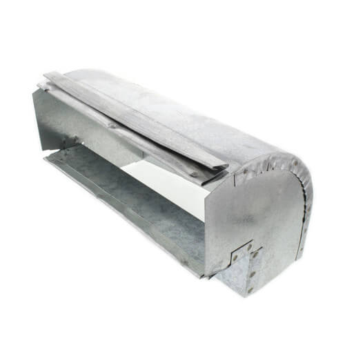 "3-1/4"" x 10"" 90° Galvanized Elbow Product Image"